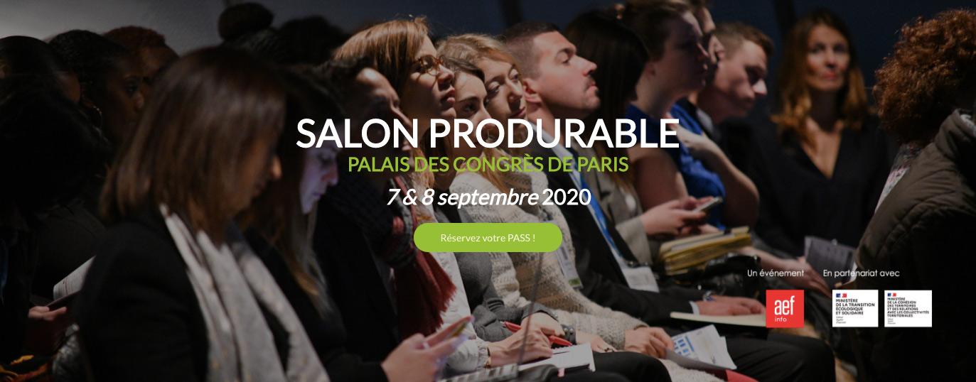 La Linkup Factory au salon Produrable des 7 et 8 septembre 2020 !