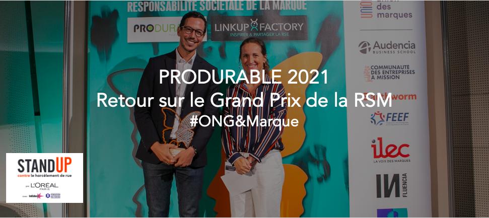 L'Oréal Paris récompensé lors du 4ème Grand Prix de la RSM, pour son partenariat avec Hollaback! et la Fondation des Femmes