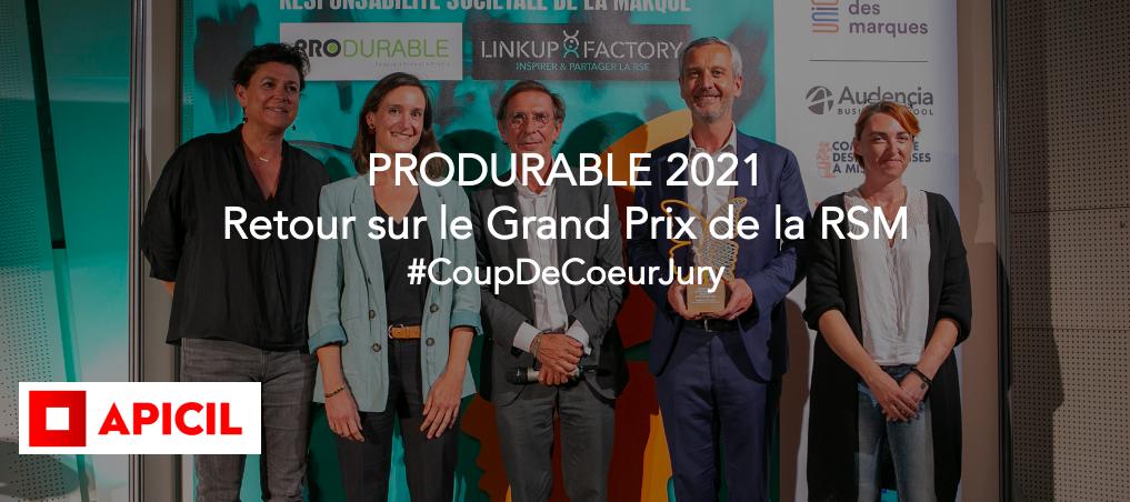 Le Groupe APICIL élu coup de cœur du Jury au 4ème Grand Prix de la RSM pour son programme « Damien 100% entouré »
